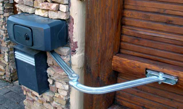Привод для автоматические ворота своими руками